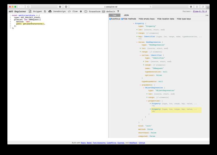 An Introduction to jscodeshift – The Blog of Feifan Zhou